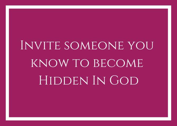 Invite someone card