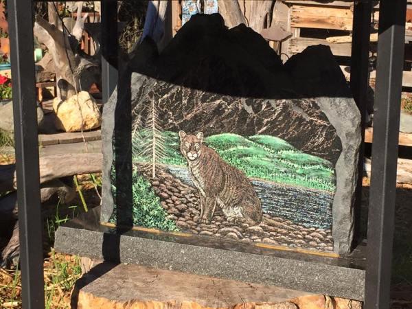 Northern Minnesota Wildlife Stone Art