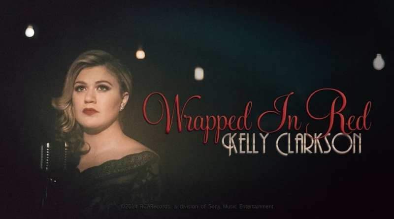 Kelly Clarkson Wrapped In Red Video