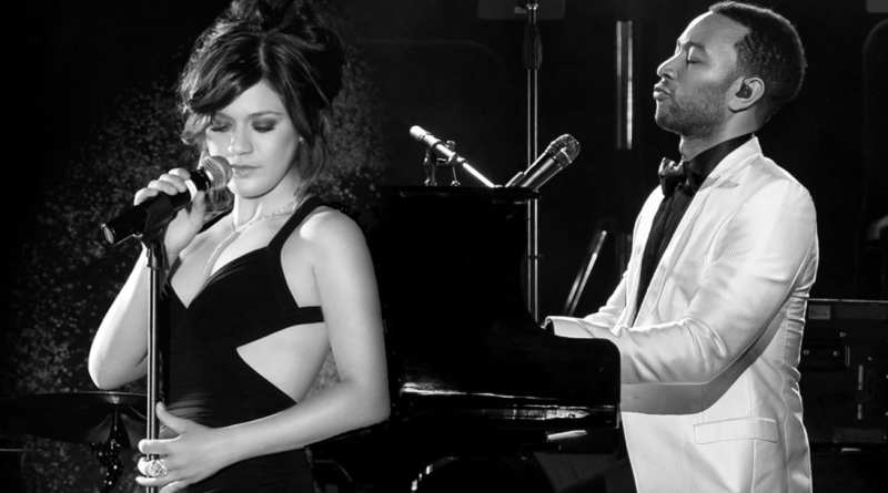 Kelly Clarkson John Legend 2015