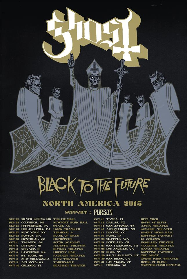 Ghost Back To The Future Tour