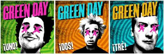 Green Day Trilogy 2012