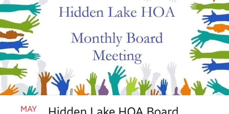 HOA Meeting This Thursday