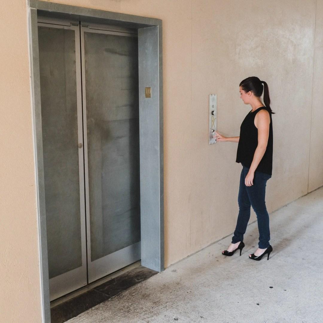 The Elevator Entrance Of Pharmacy Orlando