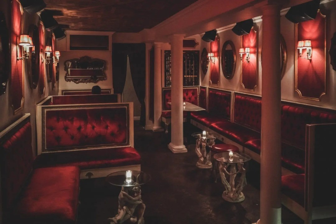 The Opulent Interior of Le Boudoir