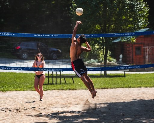 Hidden Paradise Campground - Volleyball