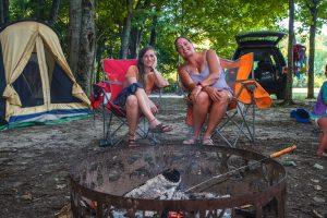 Hidden paradise campground camping