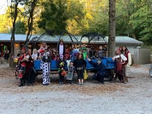 Hidden Paradise Campground - Halloween