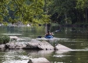 Hidden paradise campground Rivr float