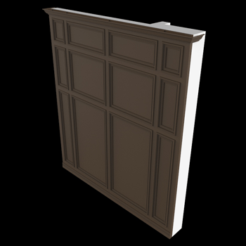 Wainscot Door