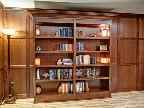 Great #1 U2013 Sliding Bookcase Door
