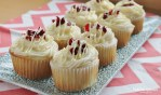 Cranberry Bliss Cupcakes