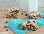 Monster Cookie Bars (naturally gluten free!)