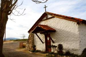 Visit the St. Francis of Assisi Chapel & Cemetery, land of the Cupeno Indians and where the Trail of Tears began