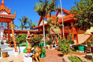 Visit Wat Lao Boubpharam Temple, one of La Mesa's beautiful Buddhist temples!
