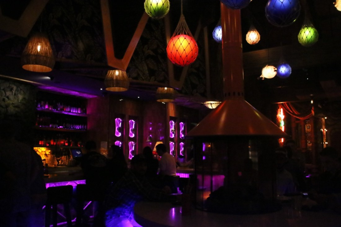 PB has caught onto the secret bar trend with their very own tik-inspired speakeasy. Enter through a freezer in a Poké bar to this tropical wonderland!