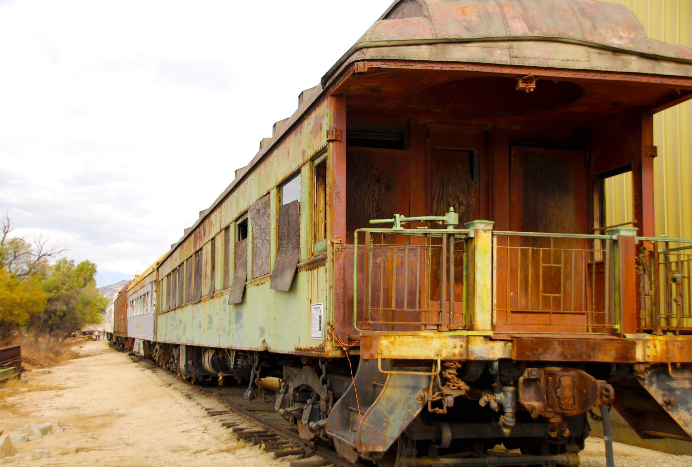 Visit the Pacific Southwest Railway Museum in Campo with the opportunity to get to explore up-close old, retired train carts.