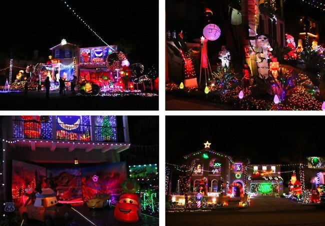 Merry-tage Court Scripps Ranch Christmas Lights