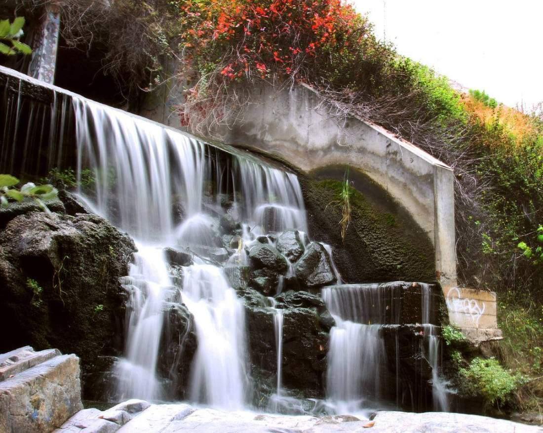 Visit one of San Diego's secret waterfalls & dam!