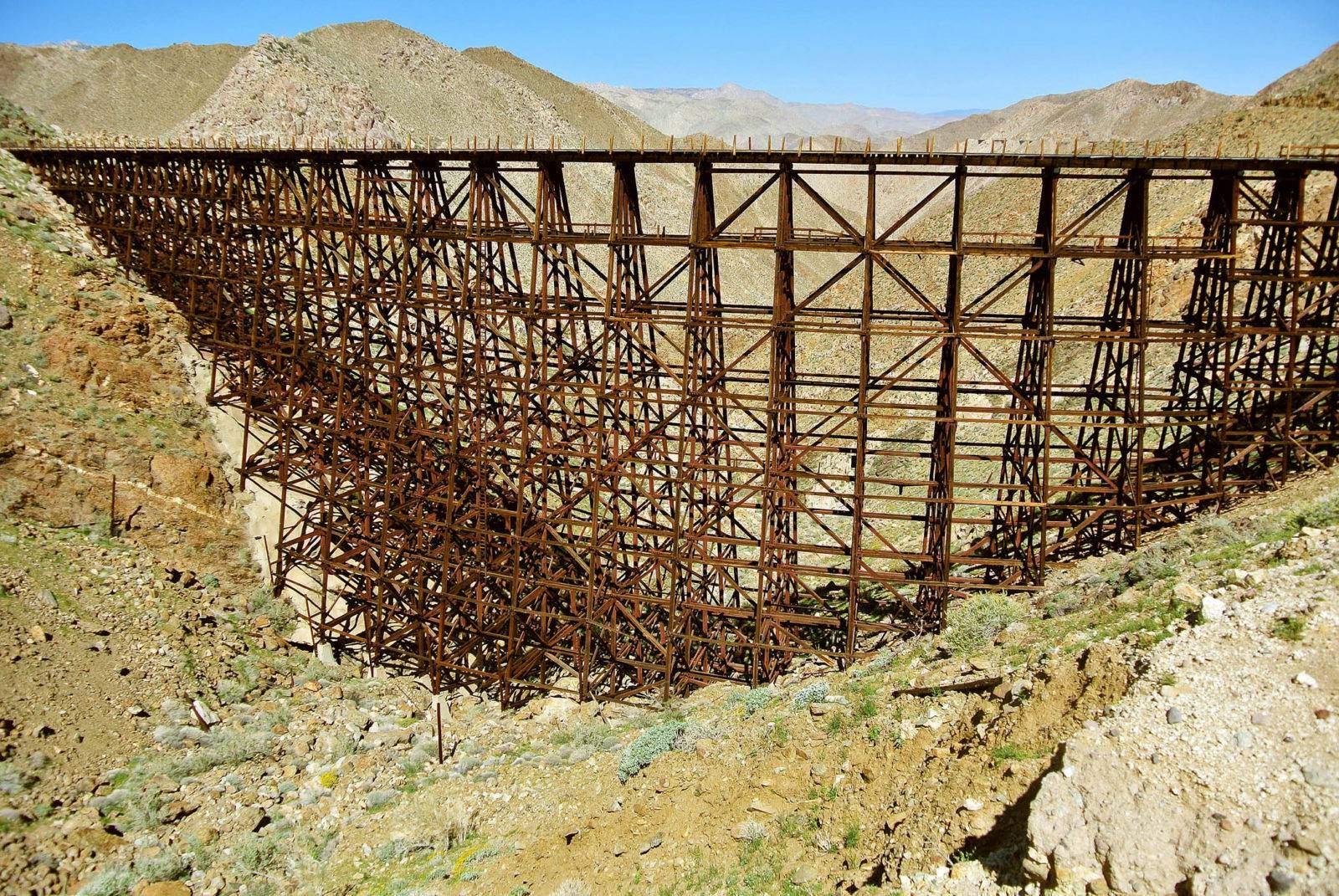 Hike the historic Goat Canyon Trestle