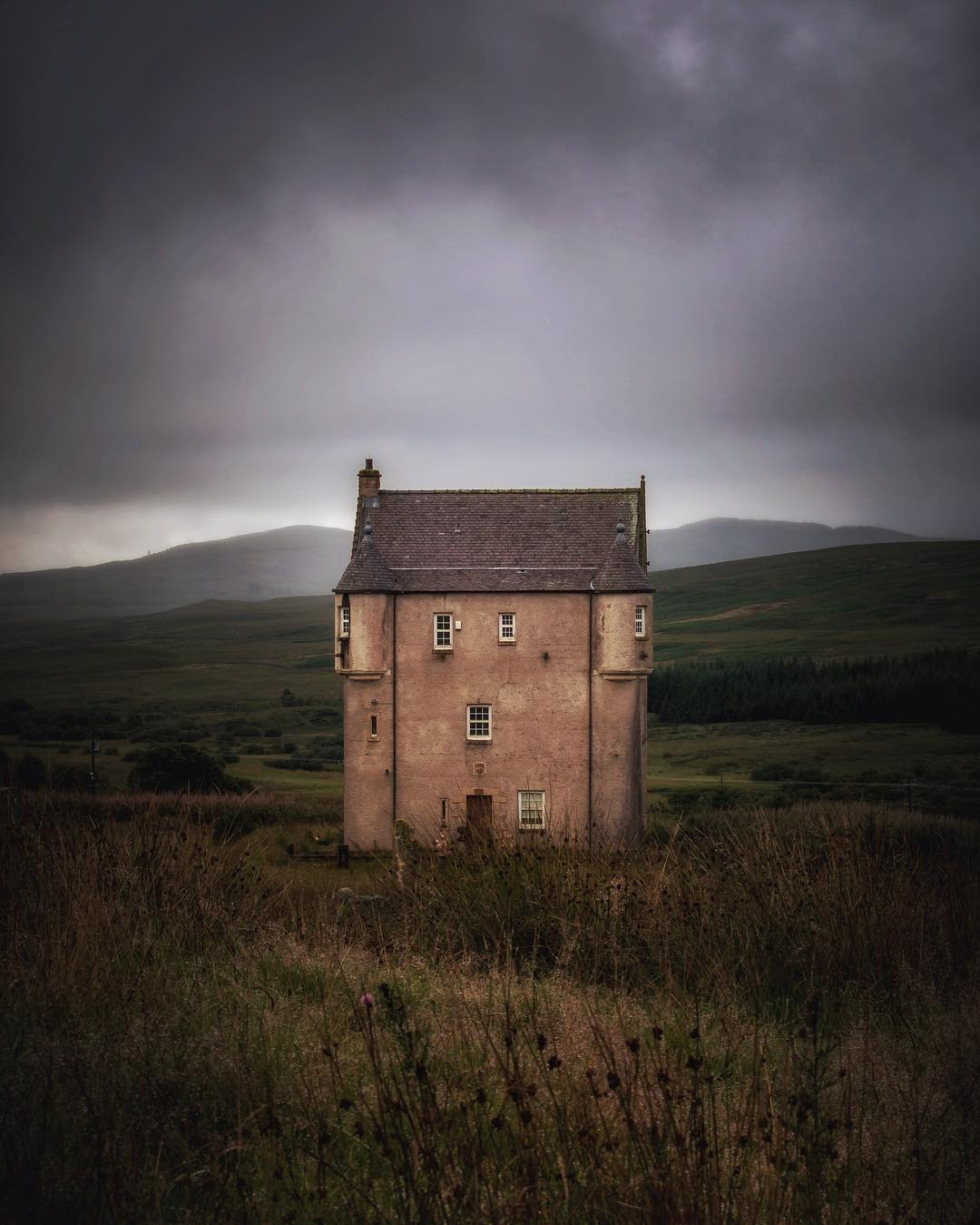 Brockloch Tower by @mintygremlin