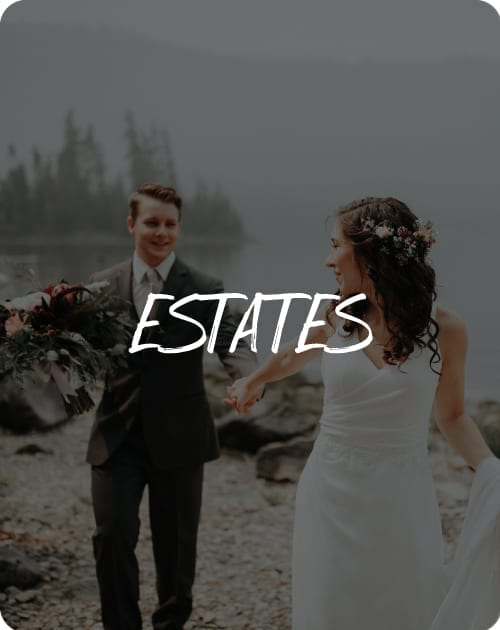 estate weddings