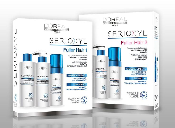 Serioxyl by L'Oreal to fight thinning hair