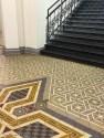 Beautiful pattern floor in Saaarbrucken