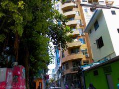 Bunte Stadt Malé
