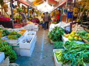Gemüsemarkt auf den Makediven