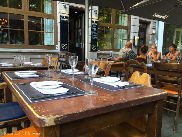 Restaurant in the Nauwieser Viertel