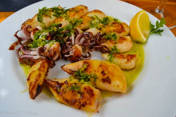 Meeresfrüchte in Piran