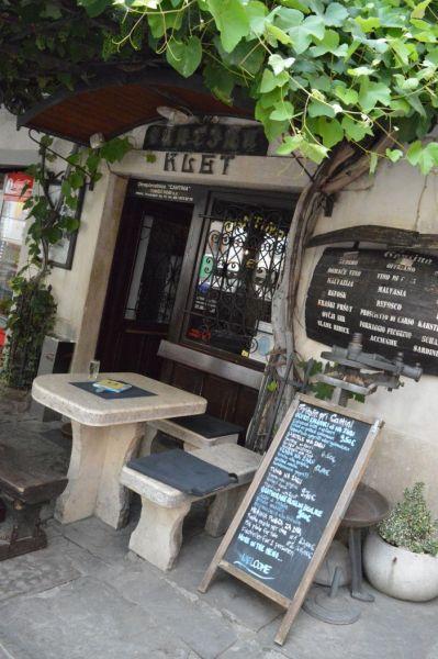 Weinlokal in Piran