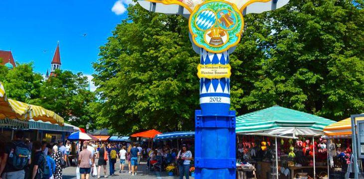 Deeper Munich: Frühstück im Viktualienmarkt Biergarten