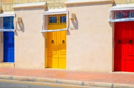 Bunte Türen in Marsaxlokkk