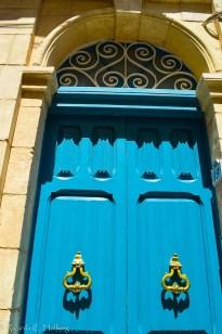 Blaue Tür auf Malta