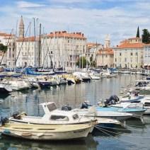 Hafen von Piran