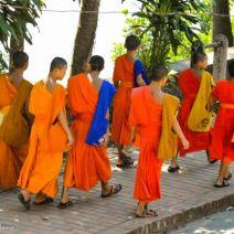 Spaziergang von Mönchen