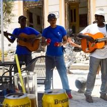 Kubanische Straßenmusiker