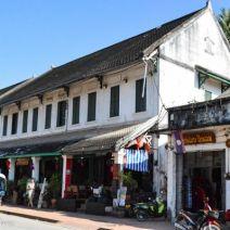Shophouses auf der Hauptstraße