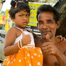 Menschen in Sri Lanka