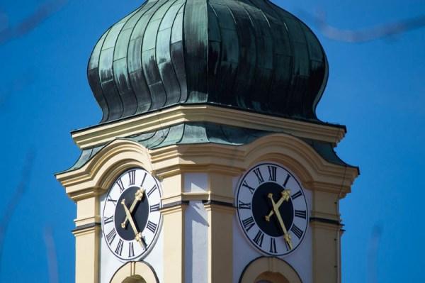 Clock-faces of St Michael