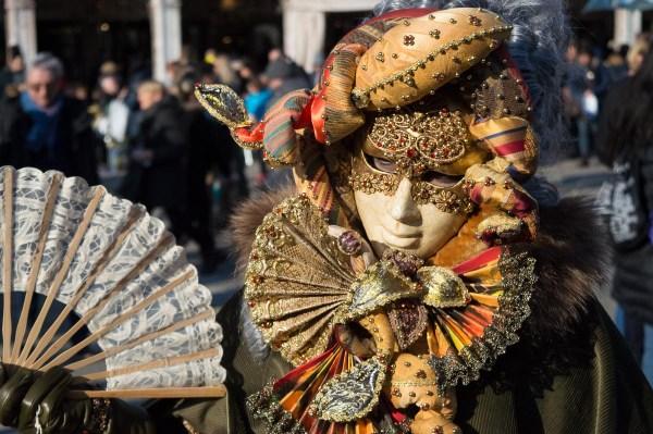 Verkleidung im Karneval von Venedig