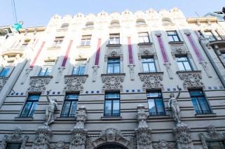 Jugendstilhaus in Riga