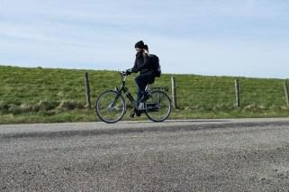 Fahrradfahren auf Texel
