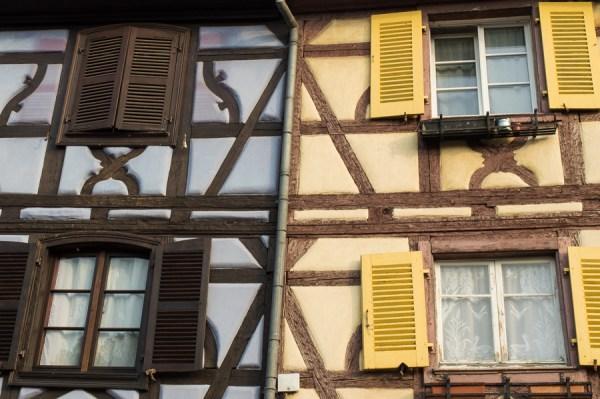 Farbkontraste in Colmar
