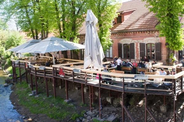 Terrassenlokal Uzupio Kavine
