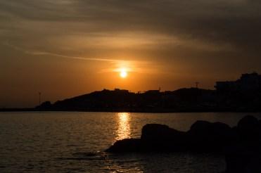 Sonnenuntergang auf Tinos