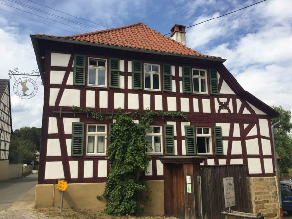 Historisches Fachwerkhaus Mürsbach Oberfranken