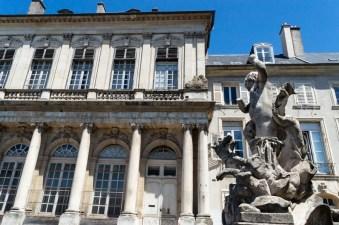 Repräsentative Architektur in Nancy